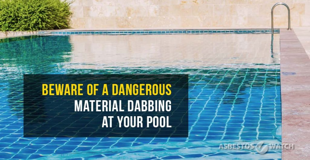 pool asbestos testing Bundaberg project
